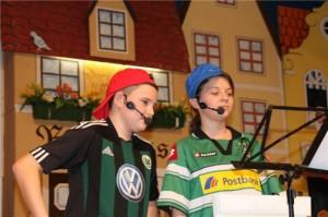 Für entsprechenden Nachwuchs ist mit Leon Weingärtner und Jette Biehl schon gesorgt.